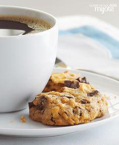 Biscuits au beurre d'arachide et aux morceaux de chocolat #recette