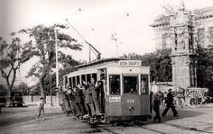Old Pictures, Old Photos, Best Hotels In Madrid, Nerja Spain, Foto Madrid, Madrid Travel, Tramway, Historical Photos, Old World