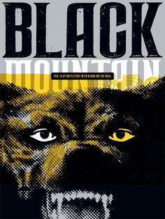 GigPosters.com - Blood On The Wall - Black Mountain