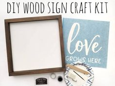 Nursery Wood Sign, Board And Brush, Make Your Own Sign, Cricut Cuttlebug, Hand Painted Walls, Diy Wood Signs, Stencil Diy, Craft Night, Transfer Paper