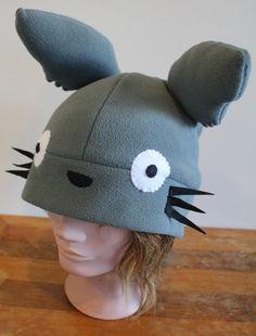 Totoro Hat by BaldieMcNoNose on Etsy
