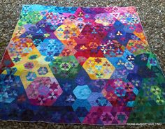 Starry Starry Night by Jeannette of Gone Aussie Quilting