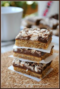 Whopper Cookie Bars…malted cookie base with a layer of fudge and crushed Whoppers