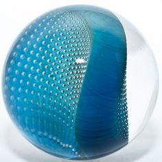 Hand-blown glass marble, Josh Simpson