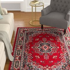 Lend a touch of elegance to most rooms with the Lilly Claret Red Area Rug. It is machine woven to provide excellent quality and durability. The intricate traditional and oriental designs on a claret background make this Lilly Claret Red Area Rug attractive. The Lilly Claret Red Area Rug is ideal for your living room or bedroom decors and complements them naturally.