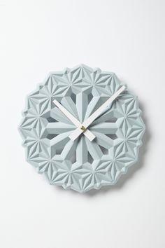 Hexa Clock by LeeLabs Studio - Anthropologie.com