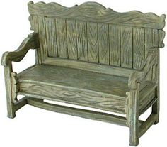 Sissinghurst Seat Miniature Fairy Bench