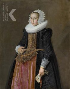 Frans Hals (I)  Datering   1625   Titel  Portrait of Aletta Hanemans (1606-1653)