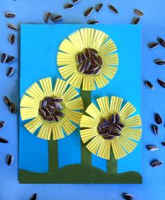 Paper Plate Sunflower Craft | Sunflower crafts Fall preschool and Scissor skills & Paper Plate Sunflower Craft | Sunflower crafts Fall preschool and ...