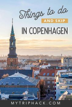 Things to do in Copenhagen in one day: places to visit, food in Copenhagen, what to skip and other travel tips. Copenhagen is one of the most popular Denmark travel destinations – read how to plan a short trip to this European Capital. Destination Voyage, European Destination, European Travel, Travel English, Voyage Europe, Europe Travel Guide, Travel Tips, Travel Info, Travel Essentials