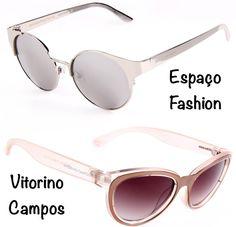 Os óculos de sol e de grau da Chilli Beans desfilados no SPFW: Espaço Fashion e Vitorino Campos.