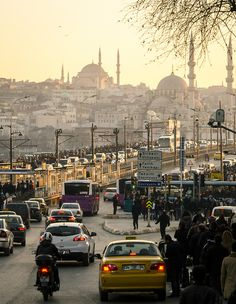The Galata Bridgeis a bridge that spans the Golden Horn in Istanbul, Turkey. From the end of the 19th century in particular, the bridge has featured in Turkish literature, theater, poetry and nove...