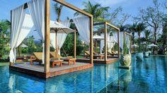 14 piscinas incríveis onde você adoraria estar neste verão. - Piscina do hotel The Sarojin, na Tailândia