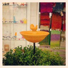 Ceramic birdbath by Kieran Whitelaw Craft Sale, Ceramics, Inspired, Gallery, Tableware, Glass, Garden, Inspiration, Ceramica