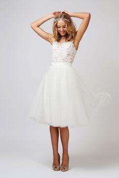 1378 best Short Wedding Dresses images on Pinterest   Dress wedding ...