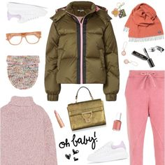 Oh Baby Love by sproetje on Polyvore featuring J.Crew, Ganni, Olympiah, Alexander McQueen, Coccinelle, New York & Company, Faribault Woolen Mill Co., Acne Studios, Gucci and Bobbi Brown Cosmetics