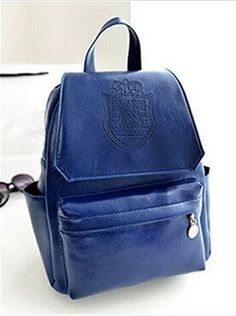 Women Back Packs With Crown, Fashion Satchels Various Colors