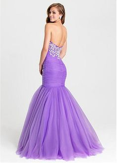 Amazing Tulle Sweetheart Neckline Mermaid Evening Dresses With Beaded Embroidery