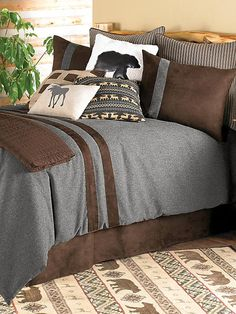 Brownstone Rustic Coverlet