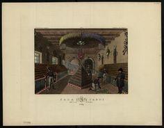 Dietrich, Fryderyk (1779-1847): Sala jazdy : Salle d'armes de cavalerie.  #PMA #Muzeum #Museum #Dietrich #Arsenał #Warszawa #Warsaw #State #Archaeological #Museum #vintage