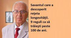 Profesorul bulgar Hristo Memerski afirmă că noi înşine ne distrugem viaţa. Memerski e autorul a zeci de cărţi de genetică şi a predat la peste 200 de universtăţi din 63 de ţări. Bătrâneţea nu e o stare naturală. E o boală pe care o provocăm alimentându-ne corect. 70 la sută dintre oameni mor pentru că … Natural Health Remedies, Good To Know, Cardio, Health Care, Health Fitness, Cancer, Memes, Beauty, Medicine