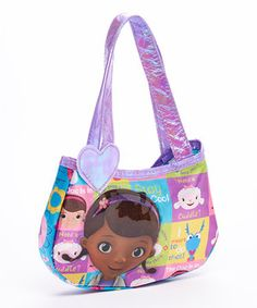 Another great find on #zulily! Doc McStuffins Hobo Bag by Doc McStuffins #zulilyfinds