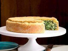 Italian Kale and Ricotta Pie