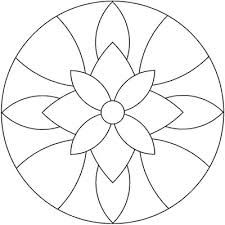 Instead of a mandala this would be a great stained glass pattern. Mandala Art, Mandala Drawing, Mandala Pattern, Mandala Towel, Easy Mandala, Mandala Coloring Pages, Colouring Pages, Coloring Books, Adult Coloring