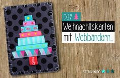Stitchydoo: Christmas cards with ribbons