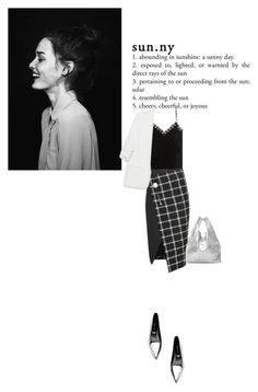 """""""Untitled #362"""" by duoduo800800 ❤ liked on Polyvore featuring Alexander McQueen, Balenciaga, Sergio Rossi, Zara and Maison Margiela"""