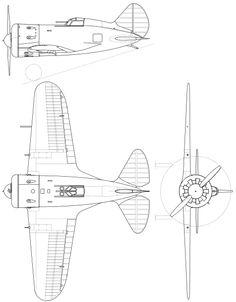 File:Polikarpov I-16.svg