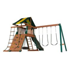 Backyard Play Systems Turtle Cove Wood Playset