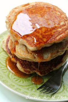 amerikanische Buttermilch Pancakes