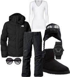 """black cold"" by aluvmn on Polyvore"