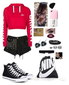 """Bon fire"" by lol22-2000 ❤ liked on Polyvore featuring WithChic, Topshop, Converse, 8 Other Reasons, Valfré, Rick Owens, NIKE, Witch Worldwide, BillyTheTree and LULUS"