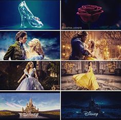 I love both of these classic animated movies, and I absolutely LOVED the new Cinderella. High hopes for the new Beauty and the Beast. <3 #pleasedontletmedown