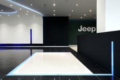 Car Showroom in Kifissias Avenue | Greece by Mariana Bisti, via Behance