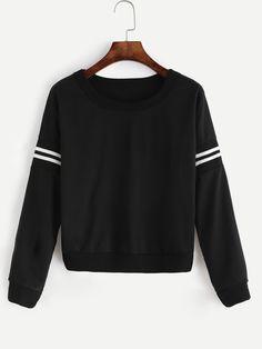 http://de.romwe.com/Black-Varsity-Striped-Crop-Sweatshirt-p-189874-cat-673.html