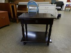 Side table With Drawer ------------------ £20 (PC463)