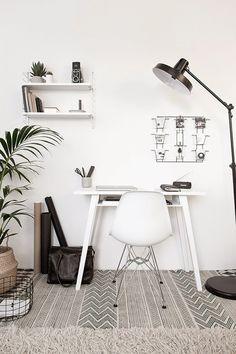 Blogger workspace : Le bureau de Wendy -Beeldsteil blog- | La petite fabrique de rêves