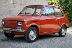 Fiat 126 impeccabile #fiat Fiat 500, Veteran Car, Design Cars, Fancy Cars, Vehicle, Classic Cars, Automobile, Lego, Passion