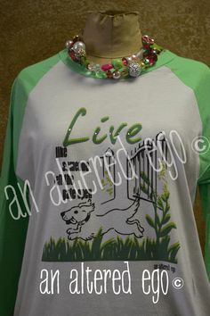 Live like someone left the gate open Raglan-dog  gate  live