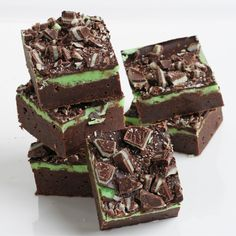 Fudge Mint Brownies {Recipe} » Glorious Treats