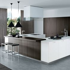 Varenna by Poliform Kyton Kitchen Cabinetry modern kitchen cabinets