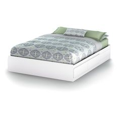 Vito Storage Platform Bed-Queen - Beds at Hayneedle