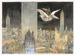 Hommage à Moebius - Nicolas de CRECY (Penciller) - W.B.