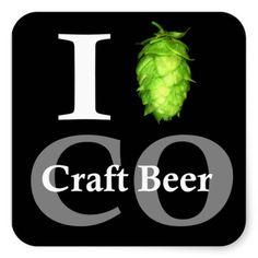 Shop I love (hop) Colorado craft beer! Square Sticker created by thebeerbabe. Beer Art, Colorado, Best Beer, Craft Beer, Wines, Custom Stickers, Brewing, Activities For Kids, Crafty
