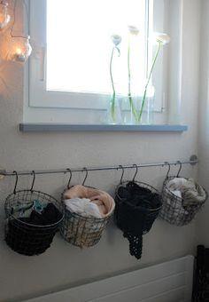 Garderobe für Mütze, Schal & Handschuhe etc.