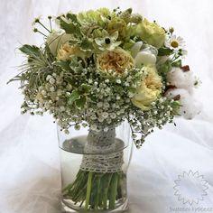 Svatební kytice Rustic Wedding, Glass Vase, Colours, Table Decorations, Flowers, Home Decor, Art, Art Background, Decoration Home