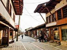 Photo from the Grand Bazaar of Gjakova. Discover the beauty of Kosovo and the best cities to visit in Kosovo via photography.
